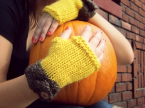 Yellow Harvest Gloves